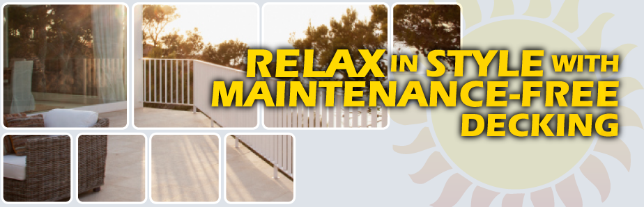 Relax in Style with Maintenance Free Decking